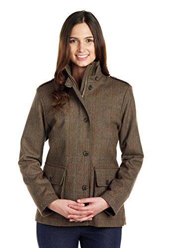 Caldene, Giacca Donna in Tweed Kerry, Marrone (Braun - Oak), 46