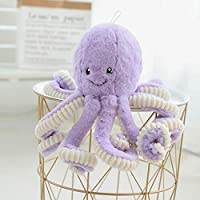Asdomo Octopus Plush, Cute Sea Creature Stuffed Marine Animals Plush Toy Simulation Soft Plush Pillow Toys 15.7inches