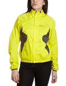 Craft Women's Active Rain Jacket - Yellow, XX-Large