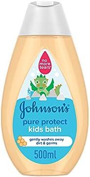 جونسون سائل استحمام حماية نقية للصغار، 500 مل
