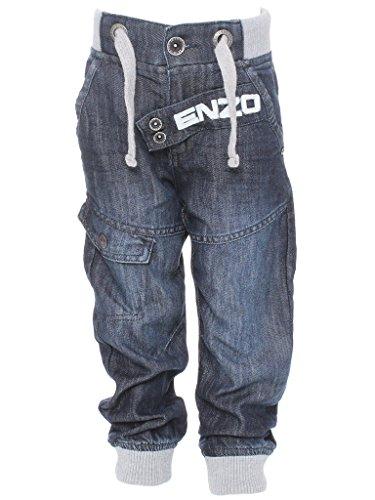 Ze ENZO Enzo Babies Ribbed Cuffed Jeans EZBB342 DSW 3/4 yrs