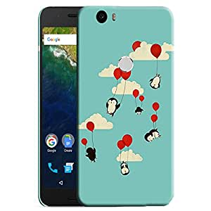 Theskinmantra Pingu back cover for Nexus 6P