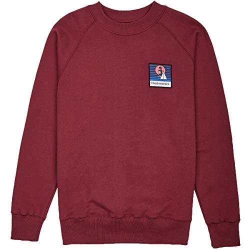 Cleptomanicx Herren Sweatshirt Signal, Größe:XL, Farben:Windsor Wine