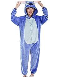 Y-BOA 1Pc Pyjama Combinaison Coton Femme Taille S Forme