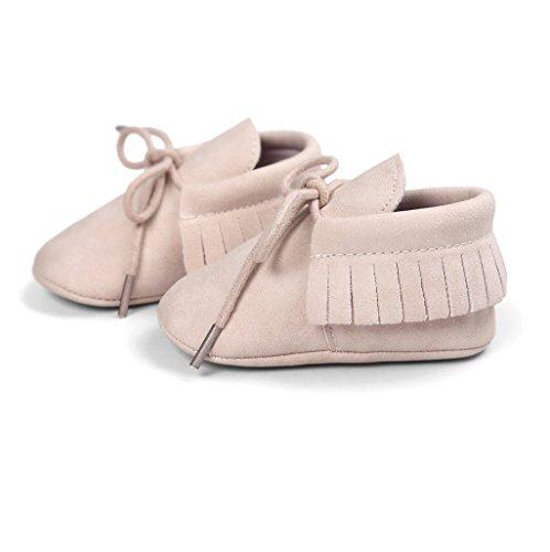 12 3 Khaki 18 Baby Dunkelbraun 6 12 Auxma Sohle Monat Quasten 6 Erste Anti 3 Schuhe Prewalker 6 rutsch Walking Soft Für M UZwaUBxqpS