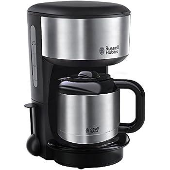 Russell Hobbs Oxford 20140  56 Thermo Kaffeemaschine Mit  Brausekopf Technologie Und Schnellheizsystem Silber