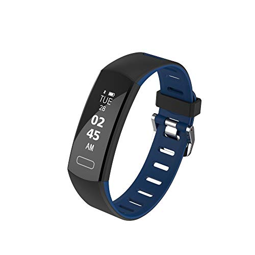 Smart Watch, MEIbax Orologio Sport Digitale Schermo da 0,9 Pollici Braccialetto Fitness Activity Tracker Donna Uomo Bambini Contapassi Calorie
