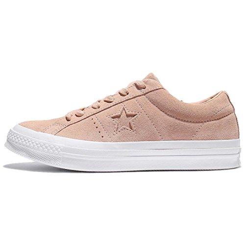 Converse Unisex-Erwachsene One Star Ox Dusk Pink/White Sneaker, Pink (Dusk Pink/Dusk Pink/White), 40 EU Converse One Frauen