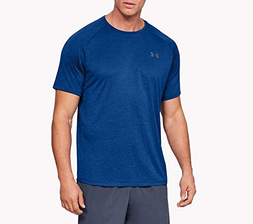 Under Armour Herren UA Tech 2.0 SS Tee' Kurzarmshirt, Blau (Royal/Graphite, X-Small - 2 Blaue Trikot