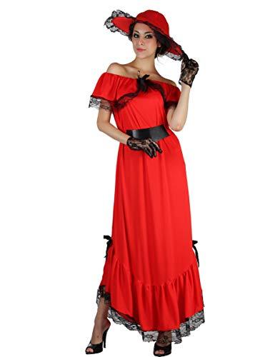 Generique - Scarlett-Kostüm für Damen Einheitsgröße ()