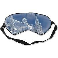 Schlafaugenmasken mit Schnee und Winterbäumen, verstellbarer Riemen preisvergleich bei billige-tabletten.eu