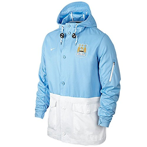 Manchester City Nike Authentic SAT 2.0 Giacca - Small