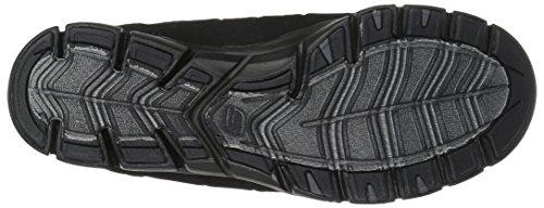 Skechers Damen Gratis-Light-Heart Slip On Sneaker Schwarz (Black)