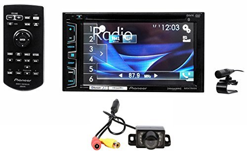 Package Pioneer AVH-X2800BS 6.2 2-Din DVD CD MP3 Car Audio Monitor Receiver With Bluetooth Rockville RBC1 Rear View Backup Car Camera  available at amazon for Rs.38047
