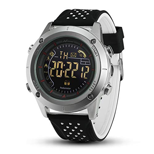 Shifenmei Smartwatch Sportuhr Stylish Smart Watch Aktivitätstracker mit Schrittzähler Kalorienzähler Nitifikation Apps Benachrichtigung Datensynchronisierung