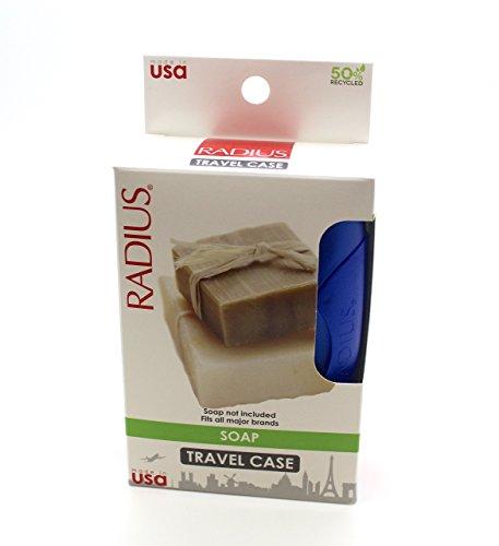 RADIUS Soap Travel Case (1 Case) - Colours may vary