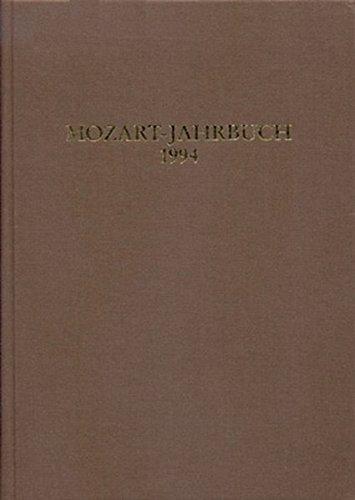 Mozart-Jahrbuch: 1994