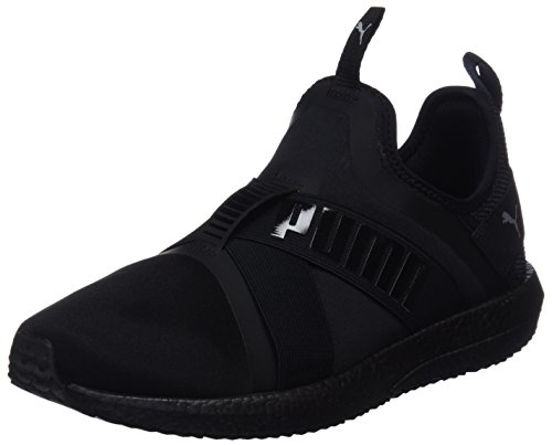 Cross-trainer Schuhe (Puma Damen Mega NRGY X WN's Cross-Trainer Schwarz Black-Quarry, 39 EU)