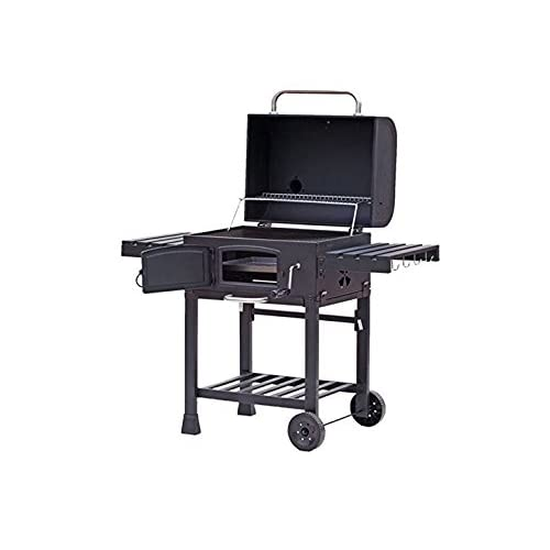 41GoGWz5GwL. SS500  - CosmoGrill Outdoor XL Smoker Barbecue Charcoal Portable BBQ Grill Garden