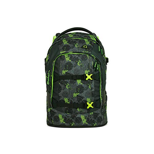 satch Pack Off Road, ergonomischer Schulrucksack, 30 Liter, Organisationstalent, Schwarz -