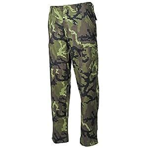 MFH US BDU–Pantaloni Antistrappo per uomo, Uomo, Typ 95 CZ tarn, M