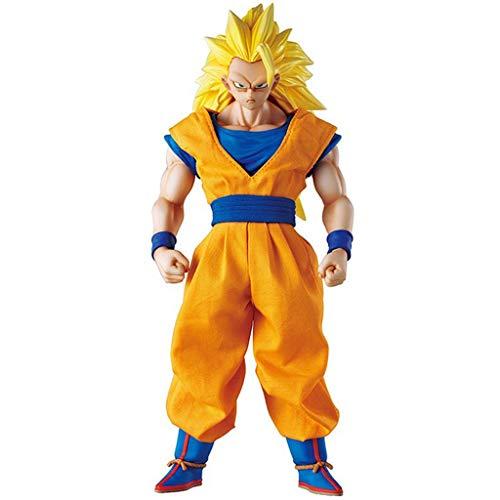 XG YXZOZZ Dragon Ball Z Anime Estatua Sun Wukong Modelo de Anime, Juguete de decoración de Oficina en casa -25CM Colección