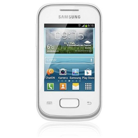 Samsung GT-S5310KWHDBT Galaxy Pocket Neo S5310 Smartphone (7,6 cm (3 Zoll) Touchscreen, 850MHz, 512MB RAM, 2 Megapixel Kamera, Android 4.1) Hello-Kitty Edition (Pocket Samsung Handy)