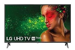 LG 43UM7500PLA 108 cm (43 Zoll) UHD Fernseher (LCD, Single Triple Tuner, 4K Active HDR, Smart TV)