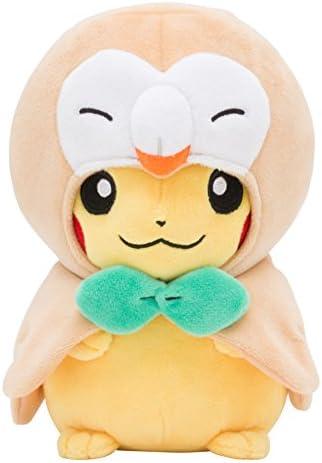 Pokemon Center Original Original Original Plush Doll Brindibou Rowlet Poncho's Pikachu a1ad8d