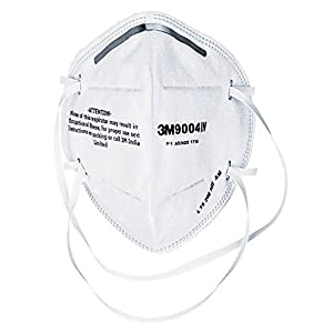 Nexcare 3M Anti Pollution Dust Mask – White – (Pack of 4)