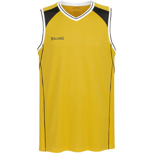 Spalding Shirt Crossover Tank Top Mehrfarbig - Jaune/noir - Jaune