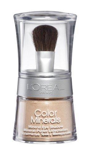 L'Oréal Paris Color Minerals Eyeshadow, 03 Desert Skin - Puder Lidschatten aus natürlichen Mineralien für ein schimmerndes, langanhaltendes Ergebnis - 1er Pack (1 x 3,5g)
