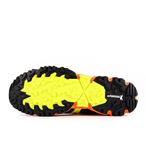 Mizuno Wave Daichi 2 Dark Shadow Safety Yellow Clownfish Noir