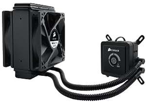 Corsair Hydro H80 Lüfter (Sockel Intel 775/1155/1156/1366/2011 und AMD/AM2/AM3, 2x 120mm)