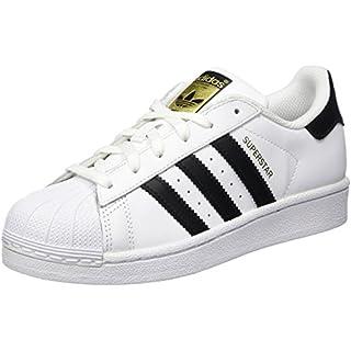 Adidas Unisex-Kinder Superstar J Low-Top, Weiß Core Black/FTWR White, 38 EU
