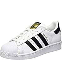 adidas Originals Unisex Superstar J Leather Sneakers