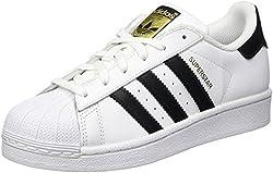 adidas Originals Superstar, Boys' Trainers, White & Black, 5 UK