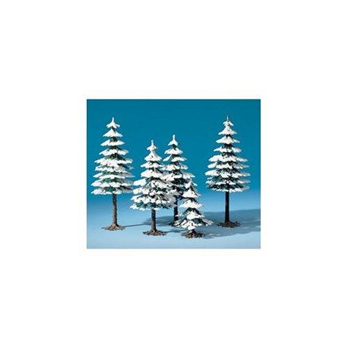 auhagen-77920-inverno-sempreverdi-modelling-kit
