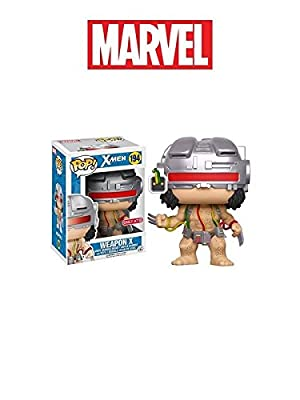Funko X-Men Pop Marvel Figurine Bobble Head Wolverine as Weapon X
