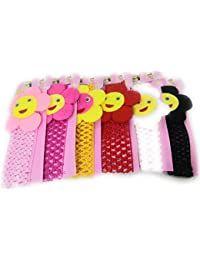 Khubsurat Stylish Stretchable Cloth Hair Band For Girls And Kids, Set Of 6 Pieces Of Mix Colour