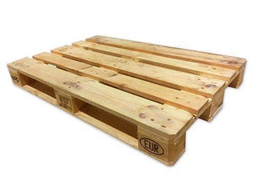 Oedim Palet Europeo Homologado 1ª Semiusado de madera | Color Madera Natural | Reciclados o Reutilizados | Madera | 120 x 80 cm | Para hacer un trabajo; mueble, decoración, etc.