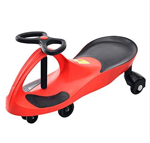 LAGERUNG DreiräDer Kinder Twist Auto 1-3-6 Jahre Alt Jungen MäDchen Kind Baby Universal Slippery Scooter Shake Balance,Red