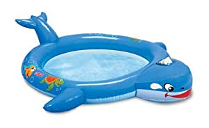 Fisher-Price Bubble of Fun Whale Paddling Pool