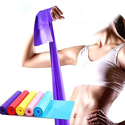 Xiton 1PC Widerstand-Bänder Professionelle Latex Gummibänder für Übungen Pilates Ganzkörpertraining Erfahrung Werkzeug -