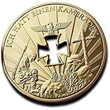 Cruz mi corazón 40 mm Alemania alemán Guerra Mundial 1 o 2 1914 1945 Chapado en