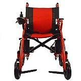 Dapang Elektrorollstuhl älteres behindertes Auto ältere intelligente automatische tragbare Roller Multifunktionsfalten,Red