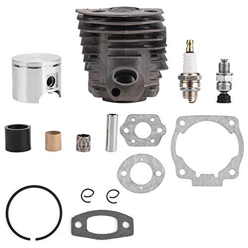 Haofy Cylinder Piston Set 46MM - Cylinder Piston Ring Set für Husqvarna 50, 51, 55 Rancher Nikasil Motor by