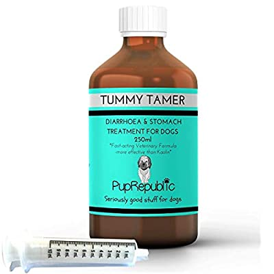 PupRepublic Fast Acting Dog Diarrhoea Treatment-Digestive Disorders-More Effective than Kaolin-Allergy Relief for Dogs from PupRepublic