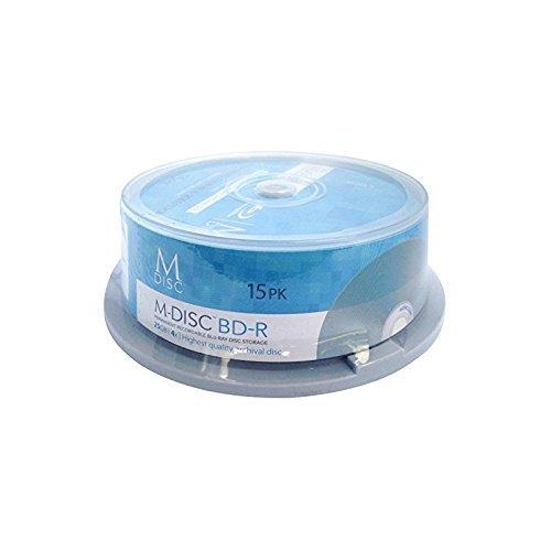Millenniata MDBD015 M-DISC Cakebox BD-R Rohlinge (4x Speed, 25GB, 15er Spindel)