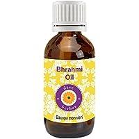 Puro aceite de Brahmi (Bacopa Monnieri), de dève herbes, 100 % natural, de grado terapéutico, 5 a 1250 ml